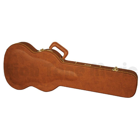 Gator GW-SG-BROWN Wooden case for SG style guitar - L.A. Music - Canada's Favourite Music Store!