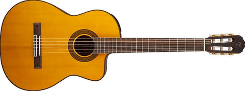 Takamine G Series Acoustic-Electric Classical Cutaway Guitar Natural GC5CE-NAT