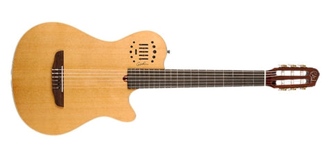 Godin Guitars Multiac Grand Concert Duet Ambiance Natural High-Gloss 031498 - L.A. Music - Canada's Favourite Music Store!
