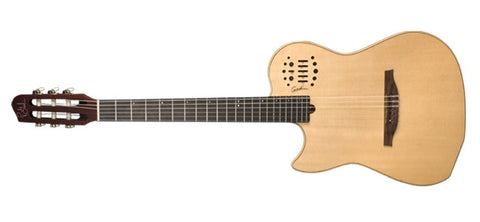 Godin Guitars Multiac Nylon SA / SA Left-Handed Natural High-Gloss 036073 - L.A. Music - Canada's Favourite Music Store!