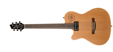 Godin Guitars A6 Ultra Natural Semi-gloss Left-Haned 036752 - L.A. Music - Canada's Favourite Music Store!
