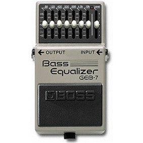 Boss GEB 7 Bass Equalizer - L.A. Music - Canada's Favourite Music Store!