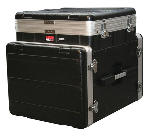 Gator 10U pop-up slant top 8U front & 12 rear rack - L.A. Music - Canada's Favourite Music Store!