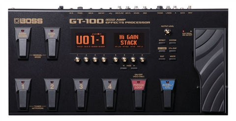 Boss GT100 Amp Effects Processor - L.A. Music - Canada's Favourite Music Store!