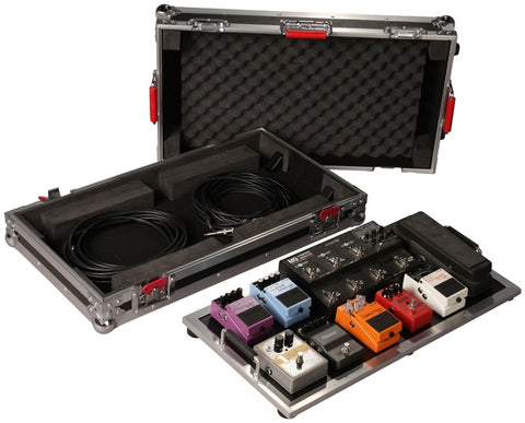 "Gator G-TOUR-PEDALBOARDLGW Large GTOUR pedal board 10-14 with 3M """"Dual Lock"""" fastener - L.A. Music - Canada's Favourite Music Store!"