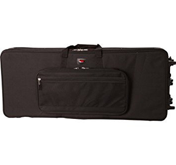 Gator GK 61 61 note lightweight Keyboard Case with wheels - L.A. Music - Canada's Favourite Music Store!