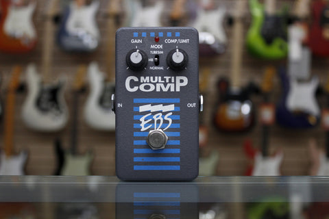 EBS MultiComp True Dual Band Compressor Pedal - Used - L.A. Music - Canada's Favourite Music Store!