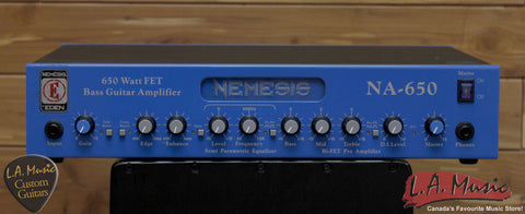 Eden Nemesis NA650 Bass Guitar Amplifier Head - L.A. Music - Canada's Favourite Music Store!