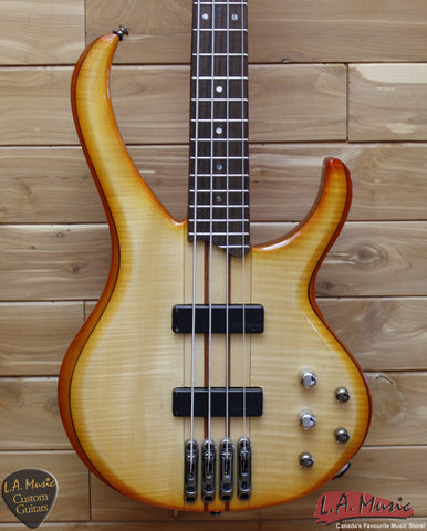 Ibanez BTB470 Electric Bass Guitar Amber - Used