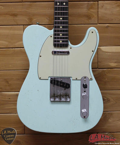 Fender Custom Shop 1963 Telecaster Journeyman Relic Surf Green,9230300857 - L.A. Music - Canada's Favourite Music Store!