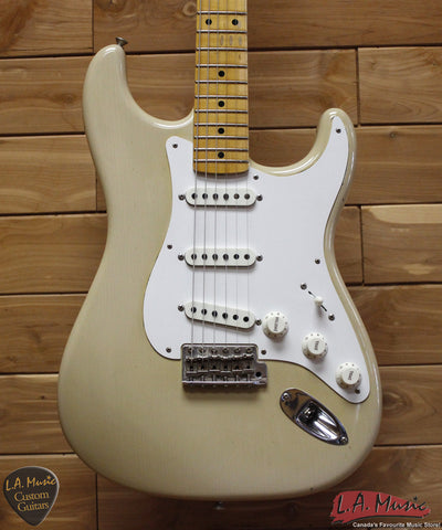 Fender Custom Shop '57 Stratocaster Relic Journeyman Desert Tan 9231006149 - L.A. Music - Canada's Favourite Music Store!