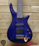 Avalanche By Dillion 5 String Bass Trans Blue - SB-25-TBL - Made in China
