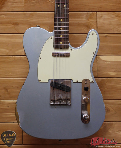 Fender Custom Shop 1963 Telecaster Relic Blue Ice Metallic - 1550630883 - Serial Number - R83901 - L.A. Music - Canada's Favourite Music Store!