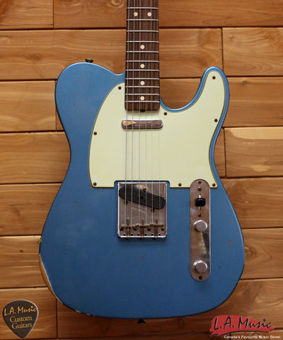 Fender Custom Shop 1963 Telecaster Relic Lake Placid Blue 9231999802 - L.A. Music - Canada's Favourite Music Store!