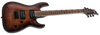 ESP LTD H-200FM IN DARK BROWN SUNBURST