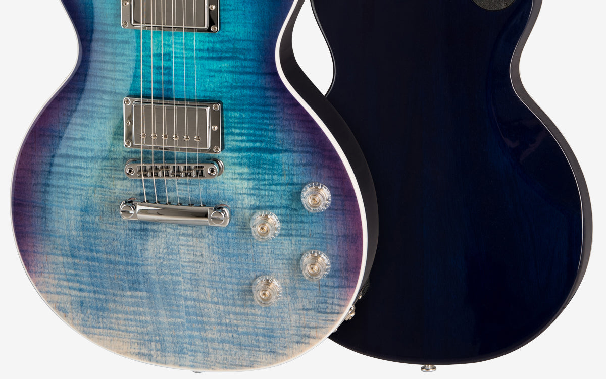 Gibson 2019 Les Paul HP High Performance in Blueberry Fade