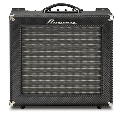 Ampeg HR12R Handwired and Assembled in USA Alltube 30W Guitar Combo Black Diamond Tolex