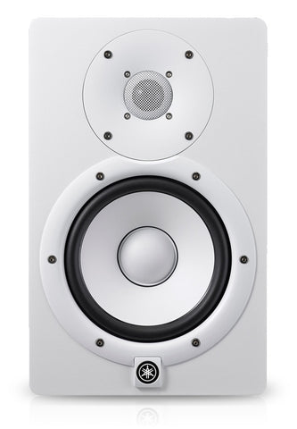 "Yamaha HS7W 7"" Powered Studio Monitor White HS7"
