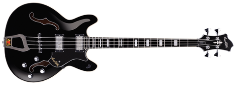 Hagstrom Viking Bass Black Gloss Bass Guitar - L.A. Music - Canada's Favourite Music Store!