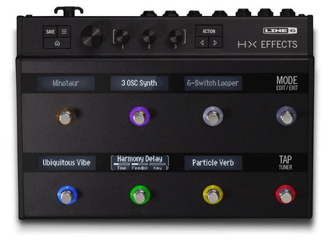 Line 6 HX Effects Guitar Multi-effects Floor Processor new for 2018