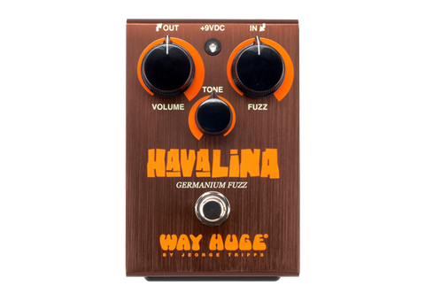Dunlop Way Huge Electronics Havalina Germanium Fuzz Guitar Effects Pedal - L.A. Music - Canada's Favourite Music Store!