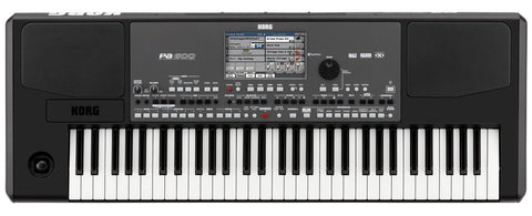 Korg 61-key arranger with Color Touchview,speakers,USB