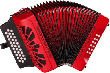 Hohner Accordion El Rey Del Vallenato with Carry Case - L.A. Music - Canada's Favourite Music Store!
