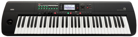 Korg 61-Key Interactive Workstation With Backing Tracks 64 Note Poly And Sequencer I3MB