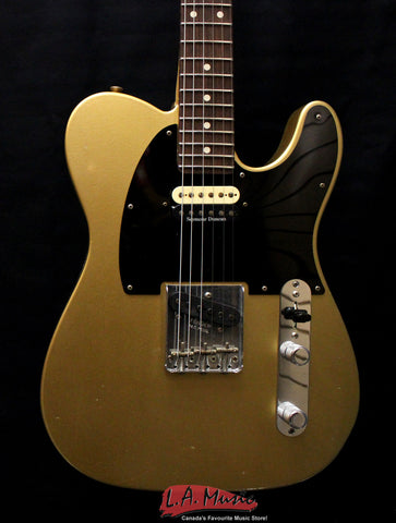 Fender Custom Shop #343 Master Built Yuriy Shishkov S-H Relic Telecaster Aztec Gold 9216007157 - L.A. Music - Canada's Favourite Music Store!