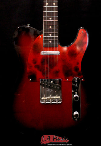 Fender Custom Shop #317 Master Built Greg Fessler Red Metallic Burst Telecaster NOS 9216007144