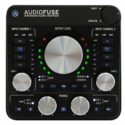 Arturia AUDIOFUSE AUDIO INTERFACE BLACK