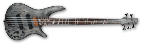 Ibanez SRFF805BKS Black Stain Bass Workshop Series 5 String Electric Bass - L.A. Music - Canada's Favourite Music Store!
