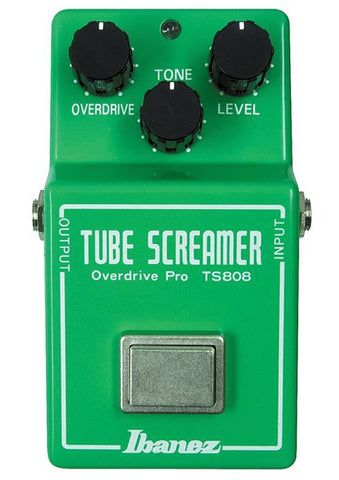 Ibanez TS808 Classic Tube Screamer Electric Guitar Distortion Effect Pedal - L.A. Music - Canada's Favourite Music Store!