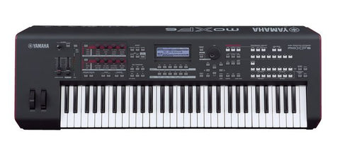 Yamaha MOXF6 61-key, semi-weighted keyboard (Initial Touch)