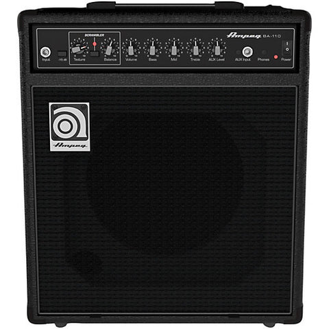 Ampeg BA110v2 40W RMS Single 10'' Combo with Scrambler - L.A. Music - Canada's Favourite Music Store!