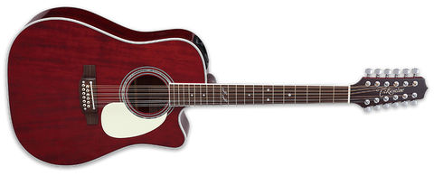 Takamine John Jorgenson Signature 12-String Acoustic-Electric Guitar with Hard Case JJ325SRC-12