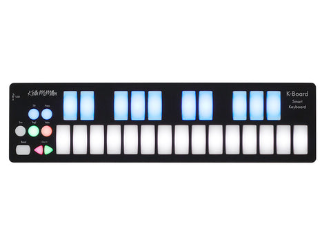 Keith McMillen Instruments 25-key LED Backlit USB MIDI Keyboard Controller K-0716