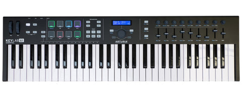 Arturia Keylab 61 Essential Limited Black Edition 61-Key USB Keyboard Controller KEYLABESSENTIAL61BK