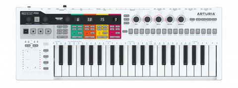 Arturia 37 Slimkey Controller Arpeggiator Sequencer Pro Version KEYSTEPPRO