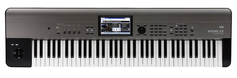 Korg 4GB Kronos Based 73-key Workstation,Color Touchview,USB KROME73EX 2019