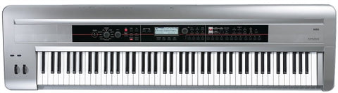 Korg Limited Edition Kross 88-Key Platinum Color Music Workstation - L.A. Music - Canada's Favourite Music Store!