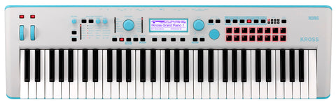 Korg Limited Edition 61-key Workstation Light Blue KROSS261GB 2019