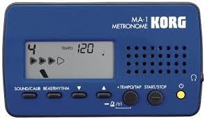 Korg Digital LCD MetronomeBlue/Black MA1BLBK