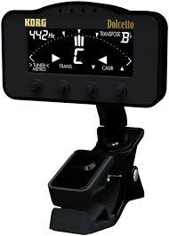 Korg Dolcetto ClipOn Tuner/Metronome for Orchestral Instruments AW3M - L.A. Music - Canada's Favourite Music Store!