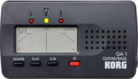 Korg GA-1 Guitar and Bass Tuner - L.A. Music - Canada's Favourite Music Store!