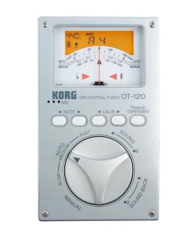 Korg Chromatic Orchestral Tuner OT120 - L.A. Music - Canada's Favourite Music Store!