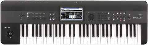 Korg KROME-61 4GB Kronos Based 61-key Workstation,Color Touchview,USB