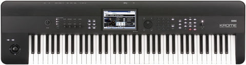 Korg  KROME-73 4GB Kronos Based 73-key Workstation,Color Touchview,USB - L.A. Music - Canada's Favourite Music Store!