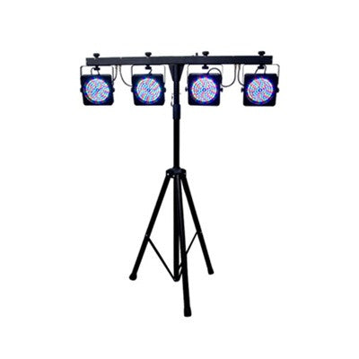Focus 9 LED Folding System 01 Version 2 With Stand and Light Controller - L.A. Music - Canada's Favourite Music Store!
