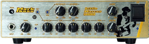 Mark Bass Marcus Miller Signature 1,000 Watt Bass Amp Head LITTLE-MARCUS-1000
